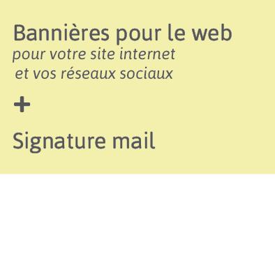 La communication des exposants - bannières web et signature mail à télécharger