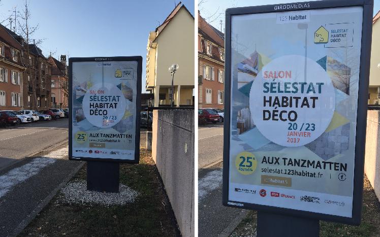 Mobilier-urbain - Communication SÉLESTAT HABITAT DÉCO 2017