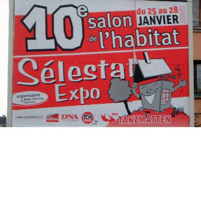 édition 2002 du salon Sélestat Habitat Déco - 10 ème anniversaire
