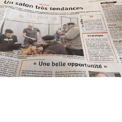 Revue de presse du Salon Sélestat Habitat déco
